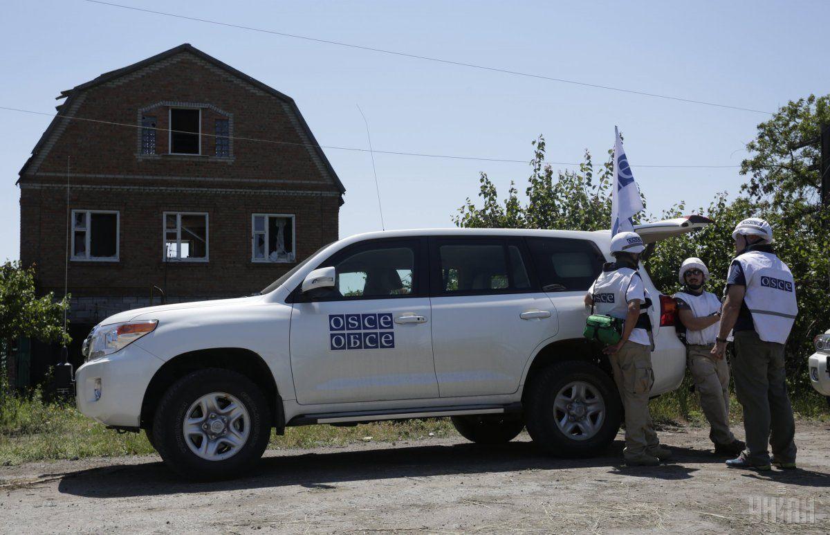 Олифер: Украина обеспокоена опасностями  вадрес наблюдателей СММ ОБСЕ состороны боевиков