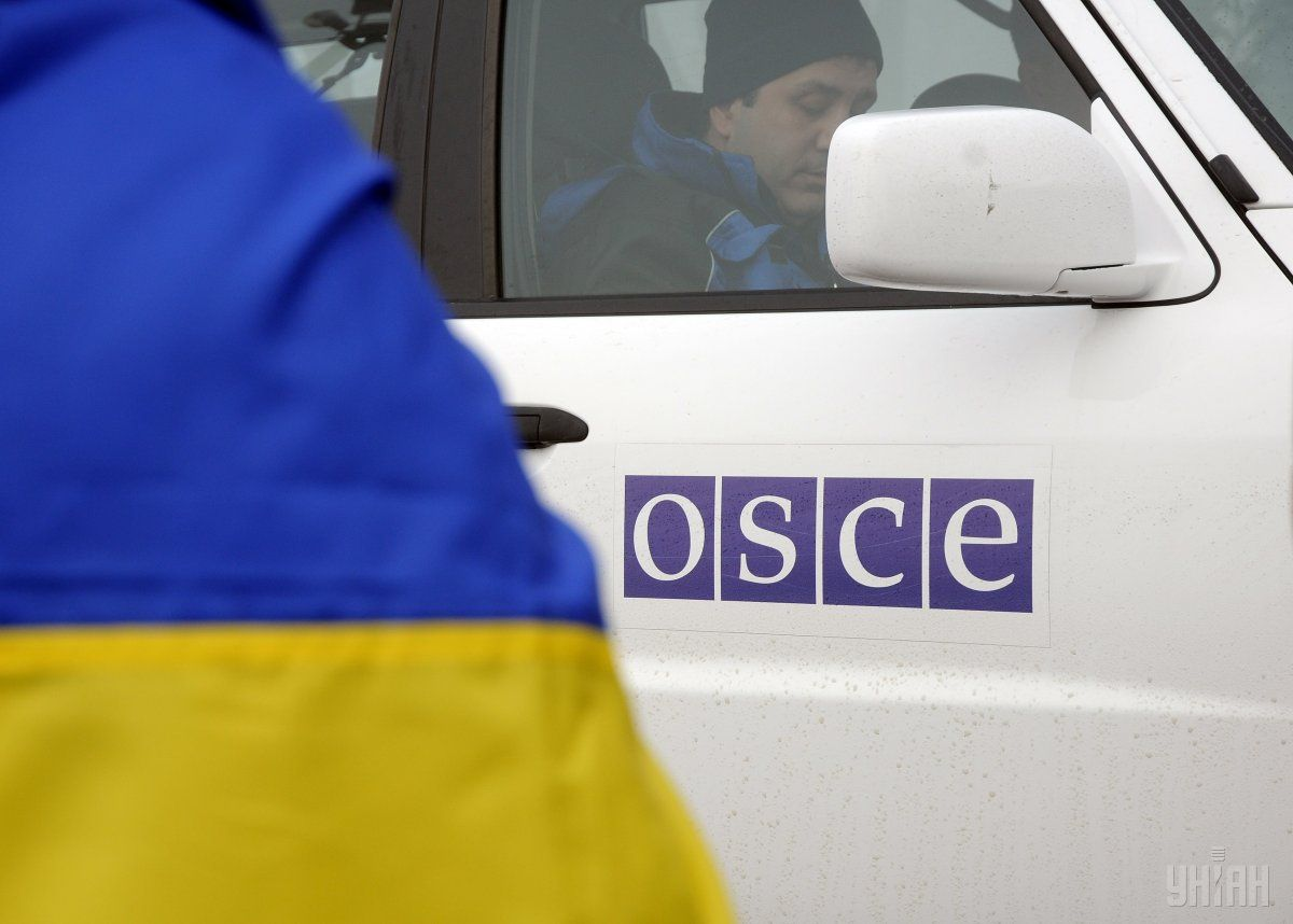 The OSCE says that its SMM is a civilian monitoring mission / Photo from UNIAN