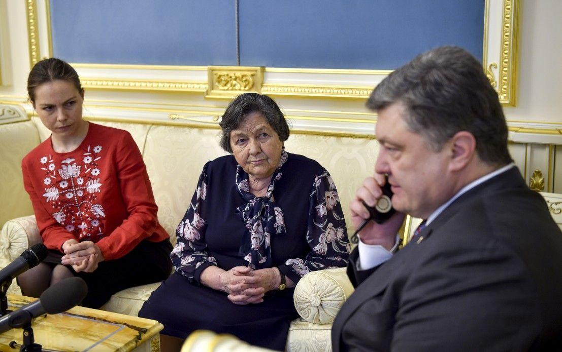Порошенко Савченко / president.gov.ua