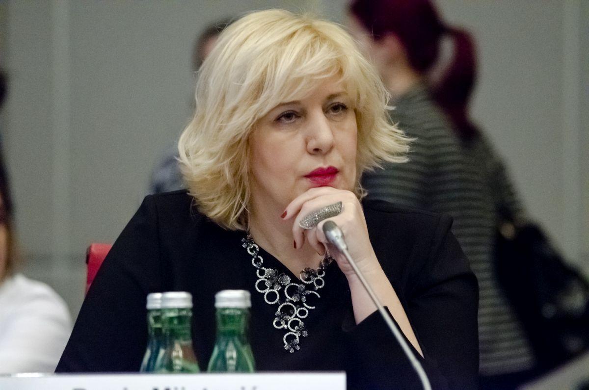 Dunya Mijatovyč zajavyla, ščo planuje vidvidaty okupovanyj Krym / OSCE/Colin Peters