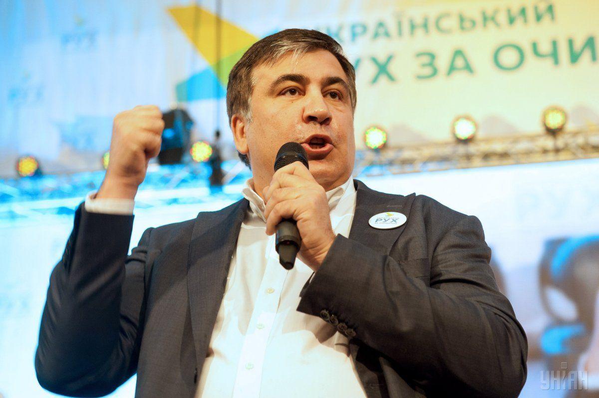 Саакашвілі анонсував створення нової партії / Фото УНІАН