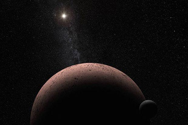 Астрономи виявили супутник у однієї з найбільших крижаних карликових планет