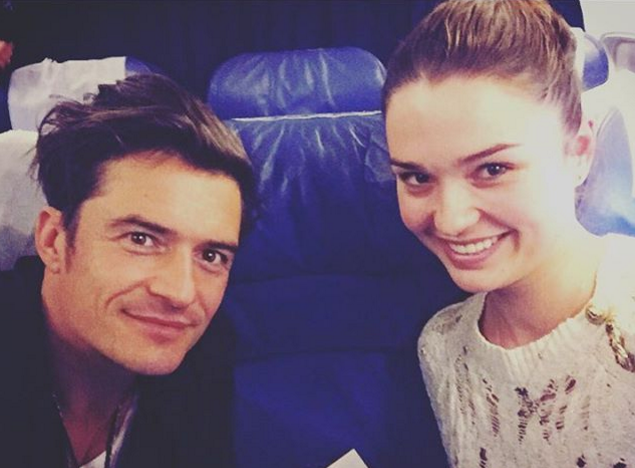 Hollywood star Orlando Bloom visits Donbas (photos, video) Orlando Bloom Instagram