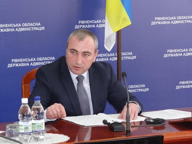 Виталий Чугунников подал в отставку ради депутатства / фото Фото пресс-службы Ровенской ОГА