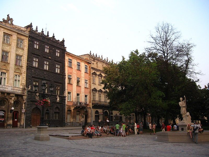 Площадь Рынок во Львове / фото uk.wikipedia.org
