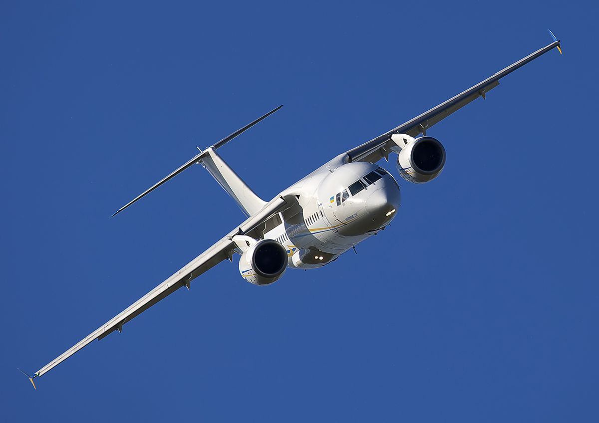 Ukraine looking for a place for its aircraft industry