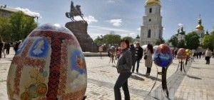 Пасхальный городок: от Софийской площади до Владимирской горки (фото)