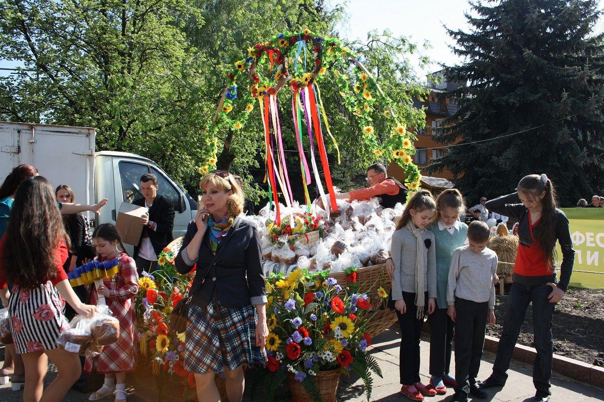 Корзина, Житомир / Фото Зоя Юхимчук / УНИАН