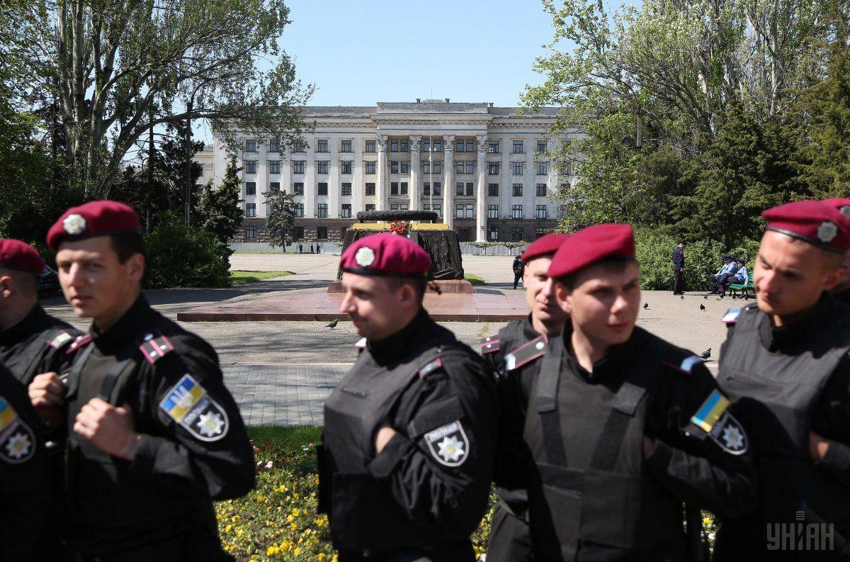 полиция, Одесса, Куликово поле / Фото УНИАН