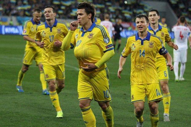 Украина сохранила свои позиции врейтинге ФИФА