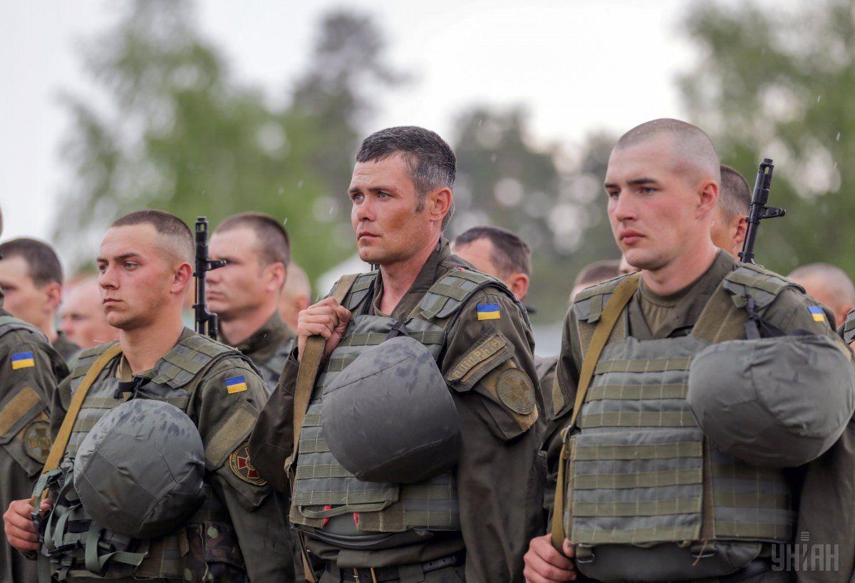 Бійці Національної гвардії / УНІАН