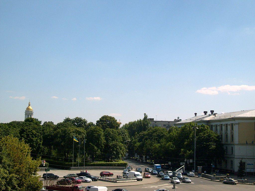 Площадь Славы в Киеве / Фото wikipedia.org