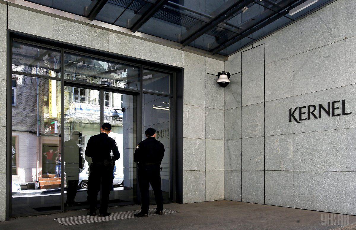 Обыск в центральном офисе «Кернел»