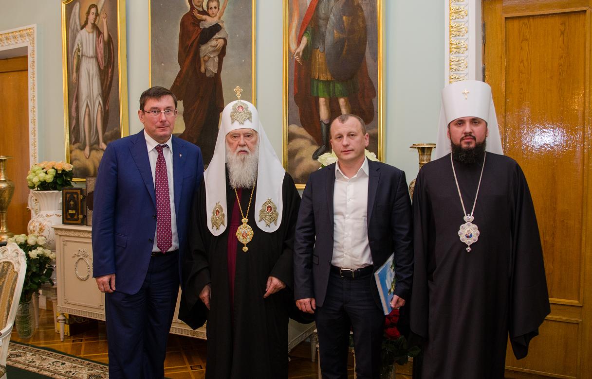 фото пресс-службы Киевской Патриархии