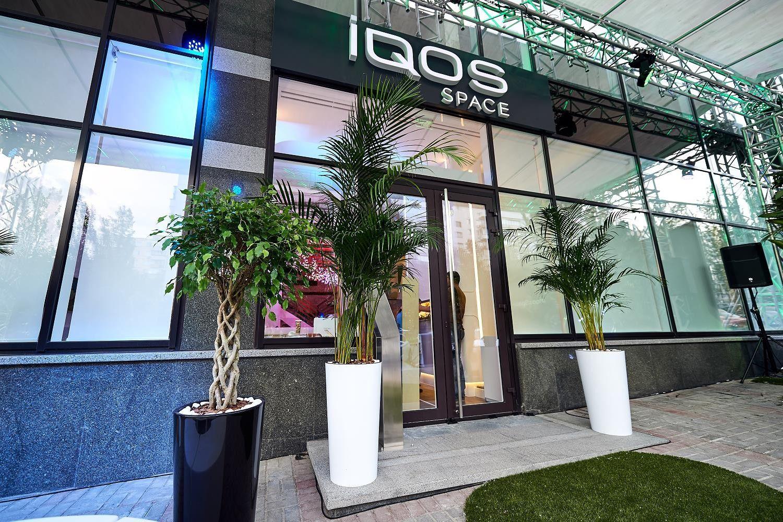 Philip Morris открыл в Киеве первый магазин по продаже инновационной системы нагрева табака iQOS
