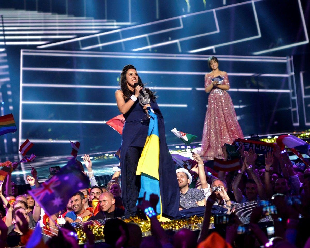 Джамала победила на Евровидении-2016 / REUTERS