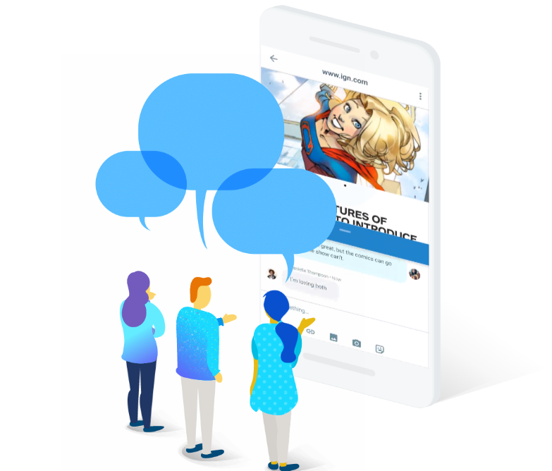 Google запустила конкурента Telegram