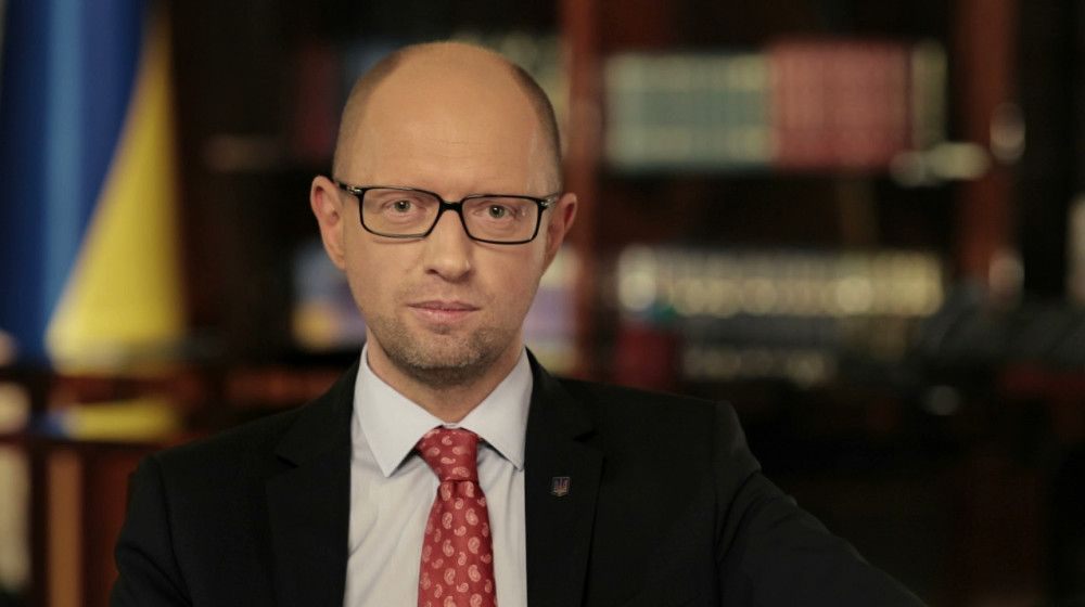 Former Ukrainian PM Yatsenyuk says the free world needs unity and solidarity / Photo from nfront.org.ua