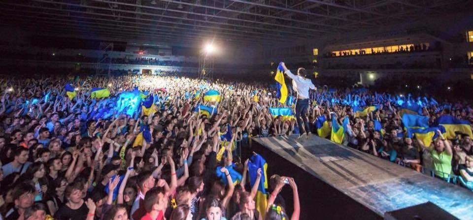 "Концерт ""Океану Ельзи"" в Маріуполі / Фото facebook.com/okeanelzyofficial"