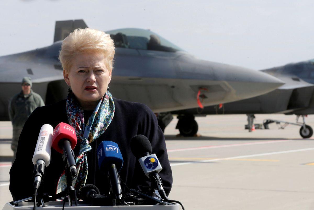 Президент Литви Даля Грібаускайте / REUTERS