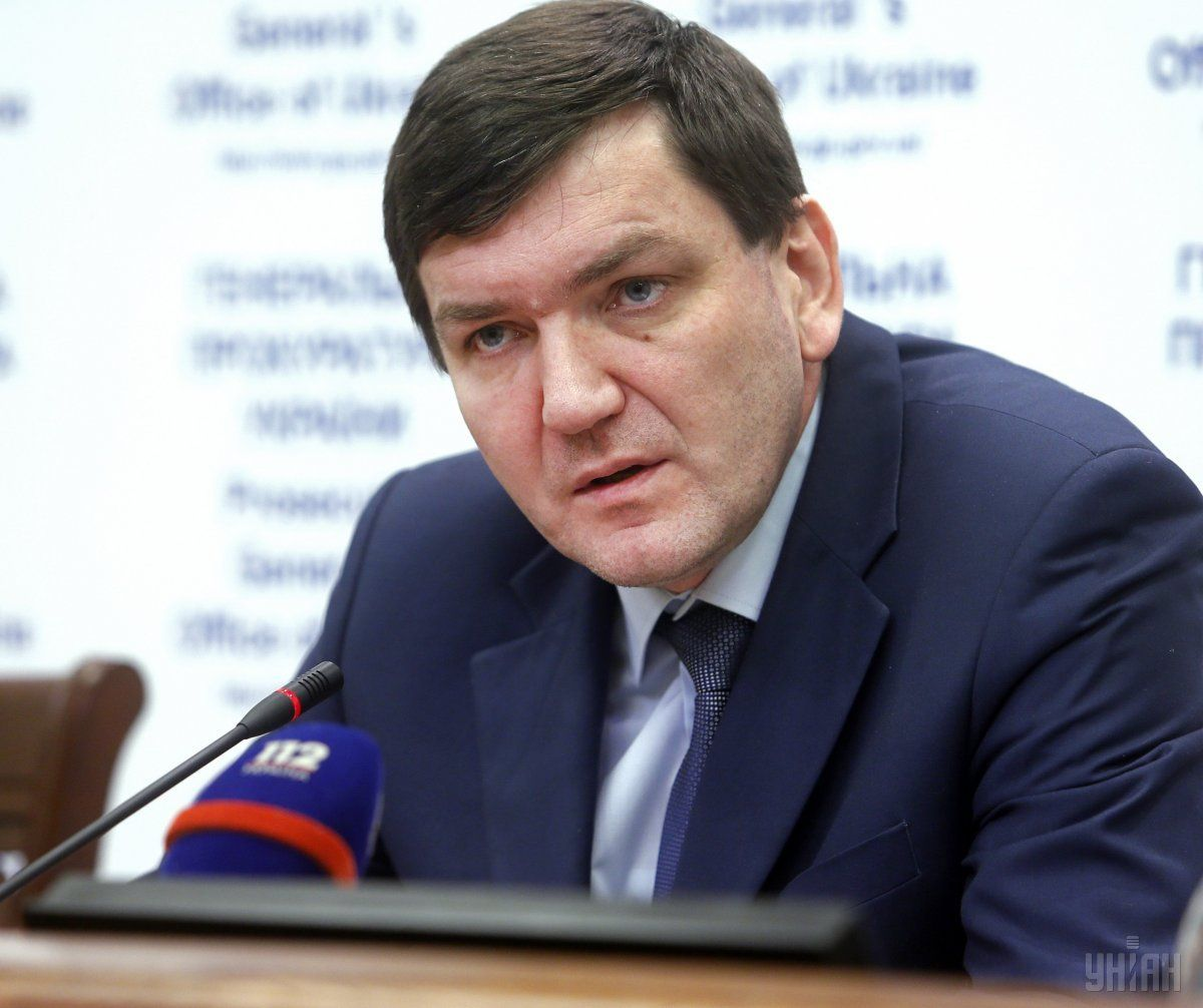 Начальник департаменту спеціальних розслідувань Генпрокуратури Сергій Горбатюк / УНIАН