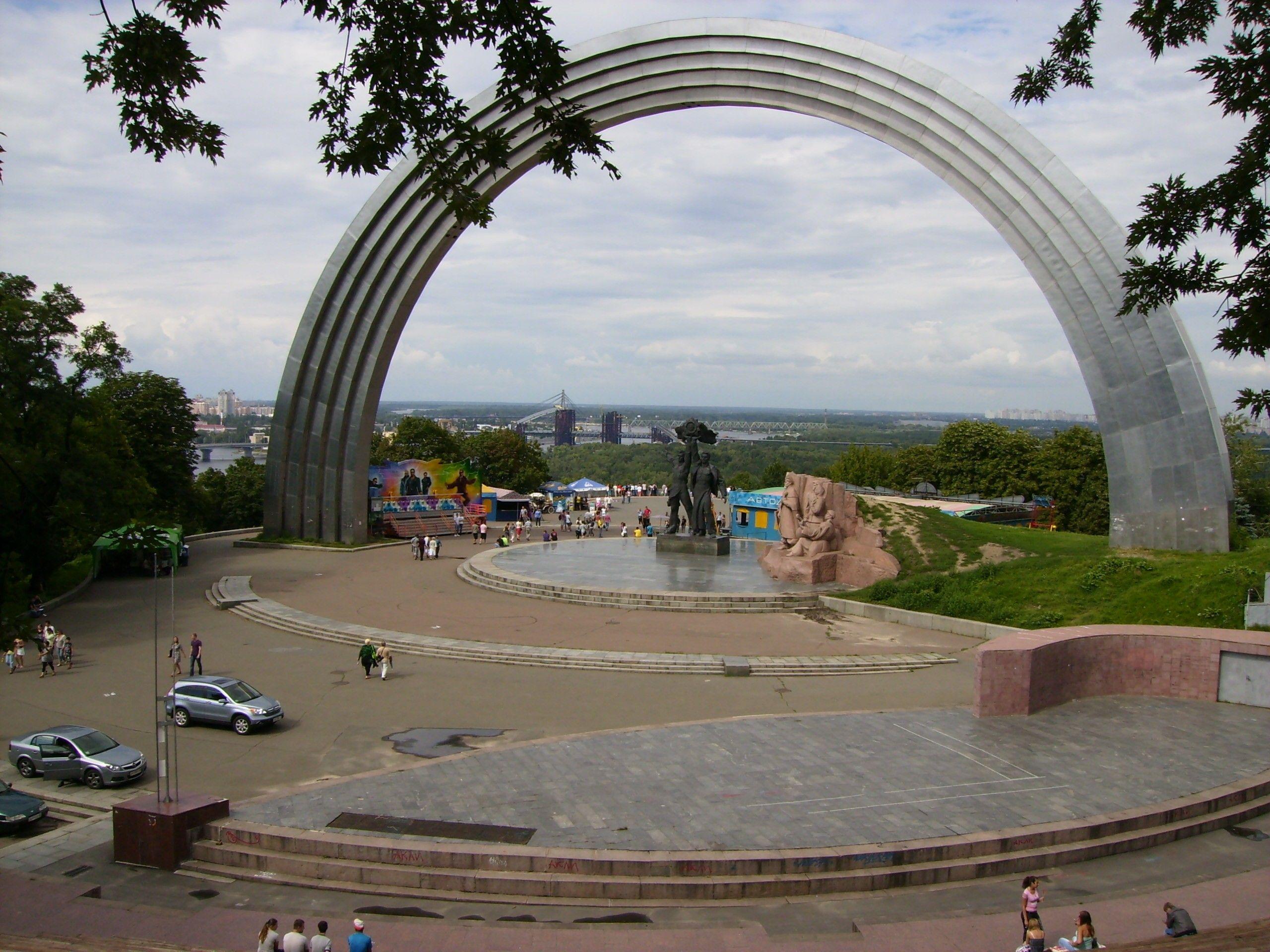 Арку дружбы народов в Киеве сносить не будут: в музей перенесут только скульптурную композицию, - пресс-секретарь Нищука - Цензор.НЕТ 2709