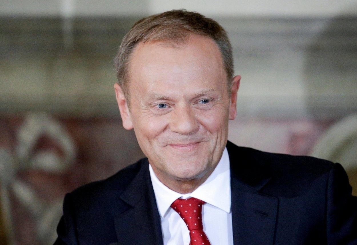 Туск пообещал Украине, что Европа еенебросит