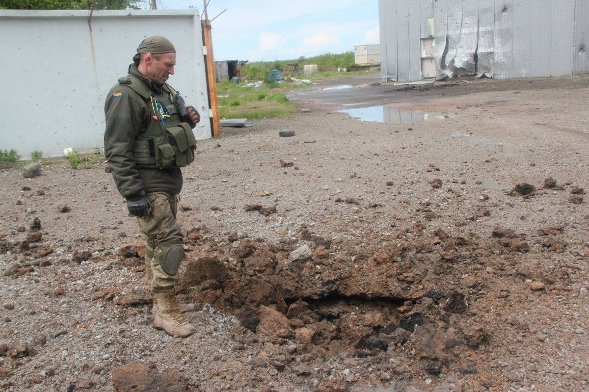 Russian proxies attacked ATO foces 56 times in the past 24 hours / Photo from facebook.com/GeneralStaff.ua