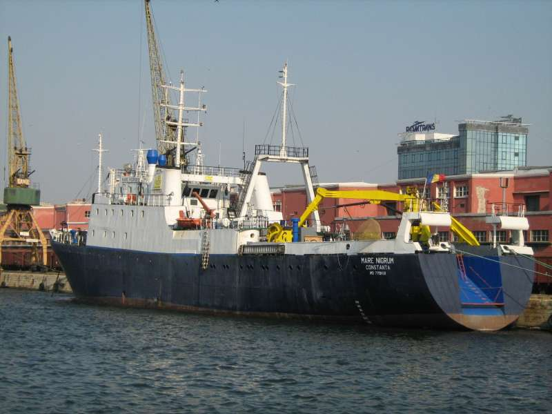С борта Mare Nigrum в Черном море будут проведены глубоководные исследования / shipspotting.com