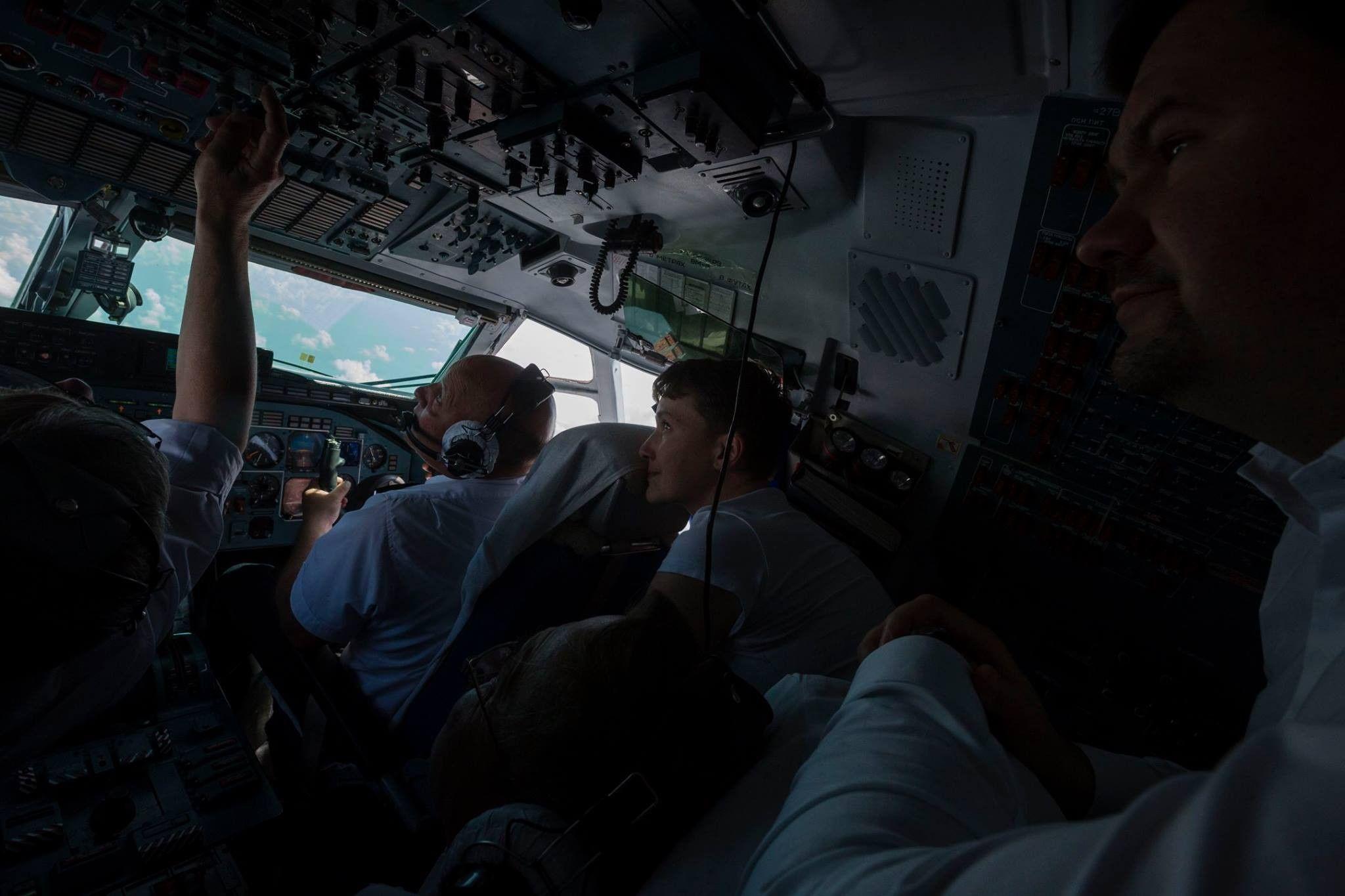 Савченко, самолет / facebook.com/svyatoslav.tsegolko
