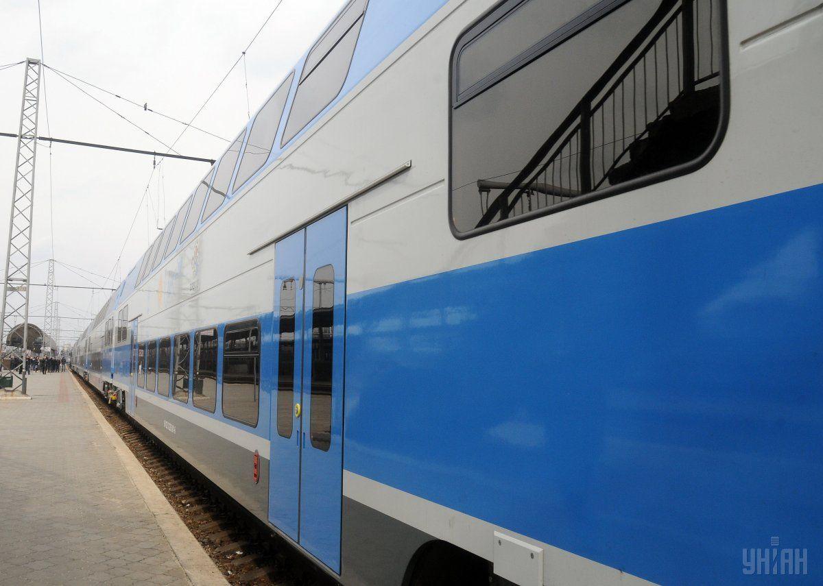Україною злистопада курсуватиме двоповерховий поїзд