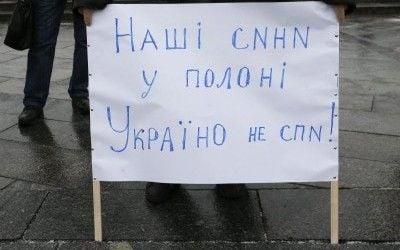 Releasing Ukrainian hostages title=