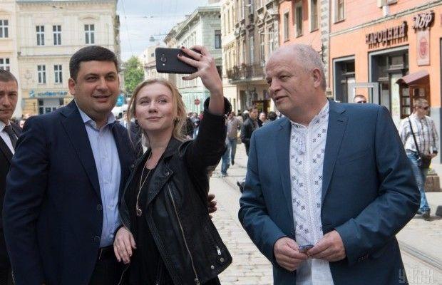 Гройсман у Львові святкує День міста
