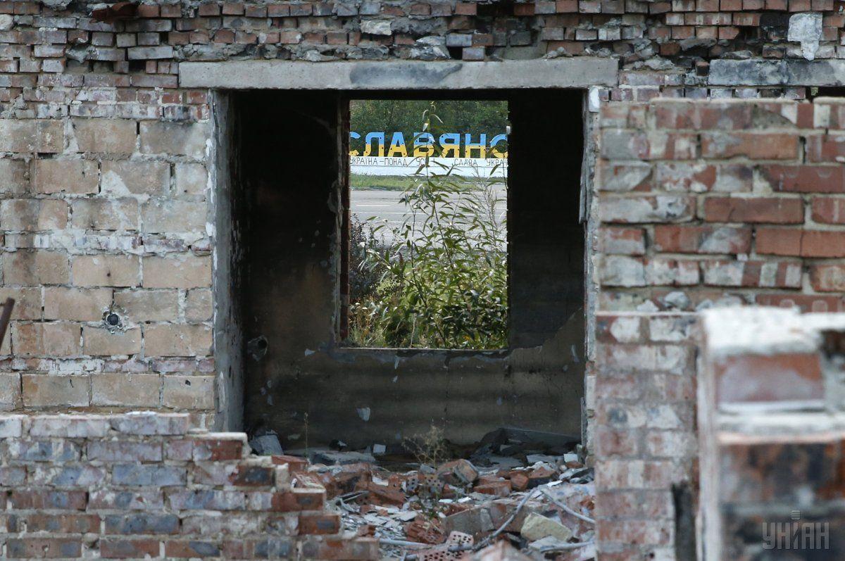 Словянск, обстрелы / Фото УНИАН