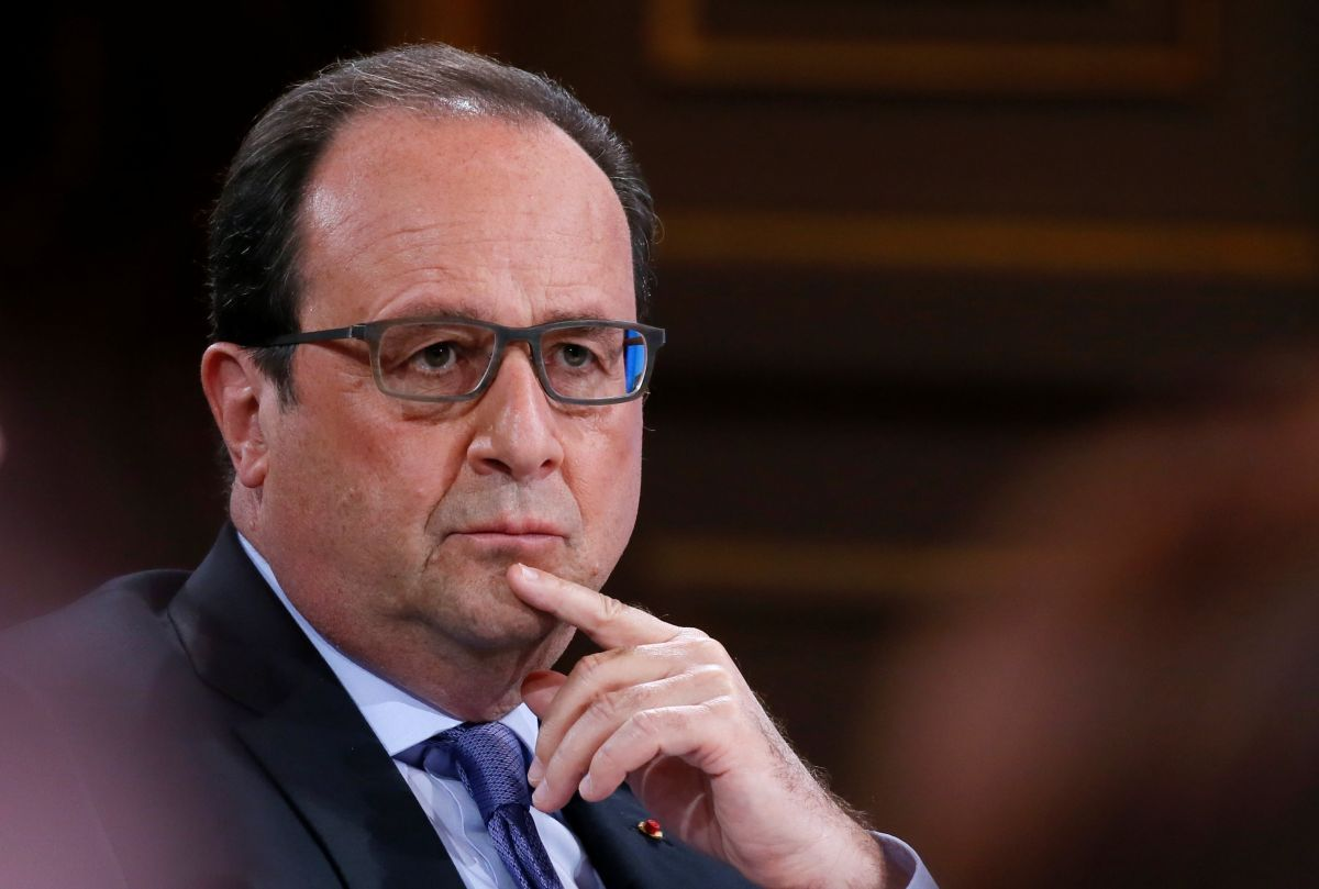 Президент Франции Франсуа Олланд  / REUTERS