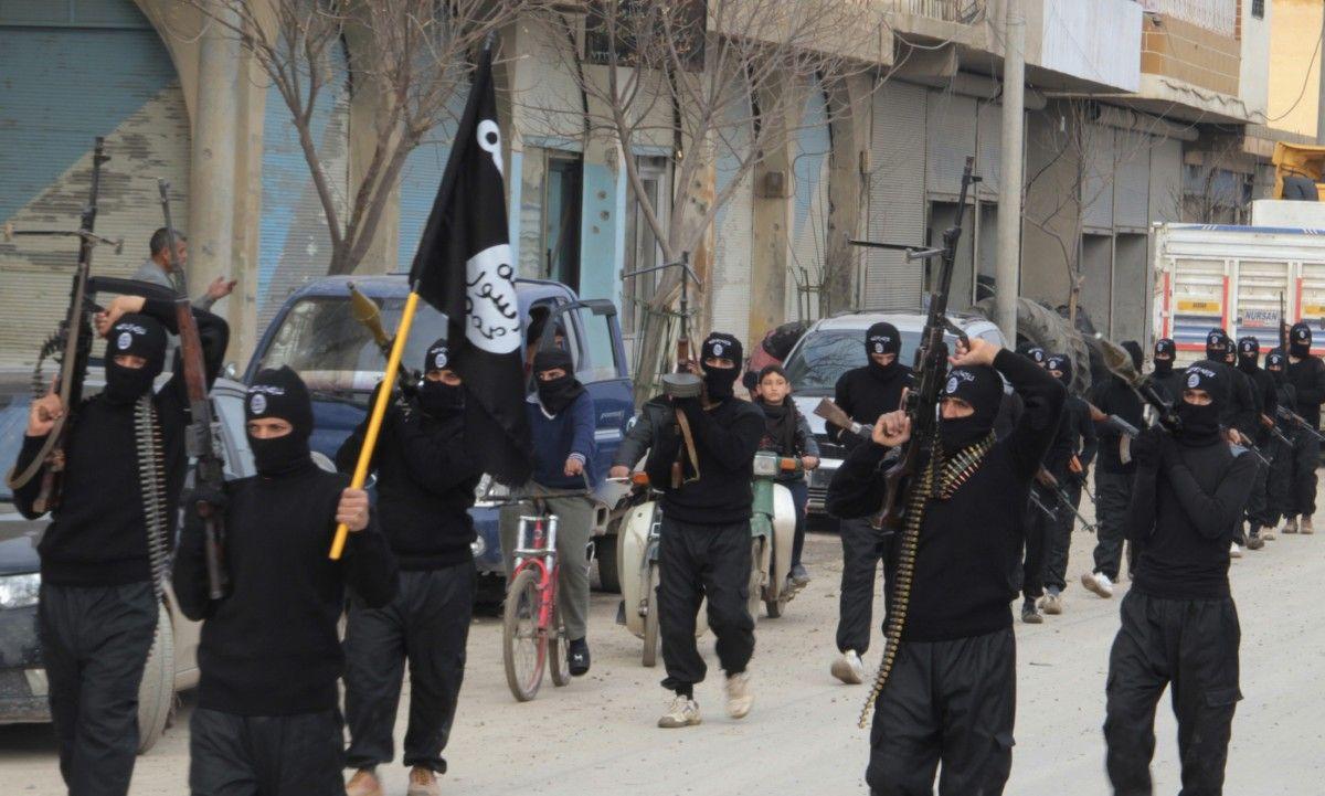 Боевики ІДІЛ в Мосуле / REUTERS