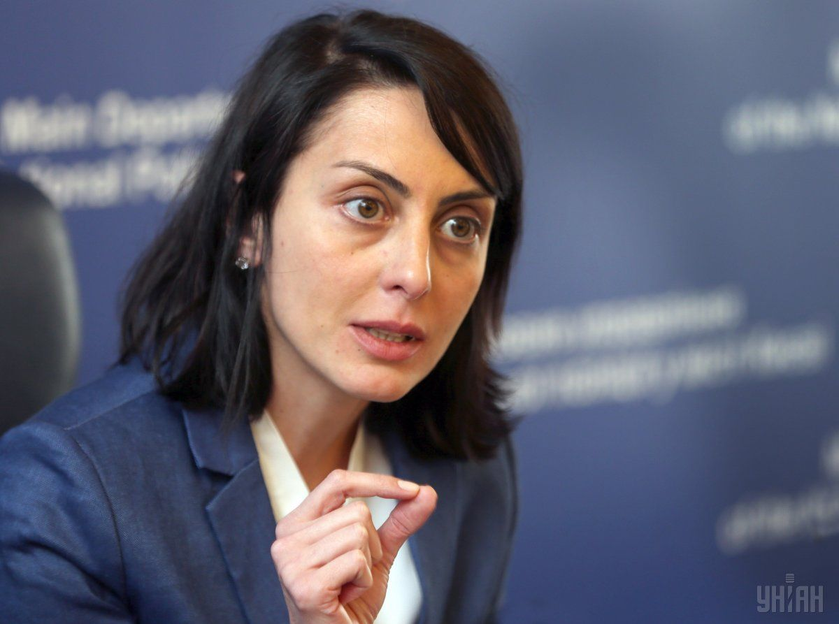 Деканоидзе прокомментировала результаты переаттестации полиции / УНИАН