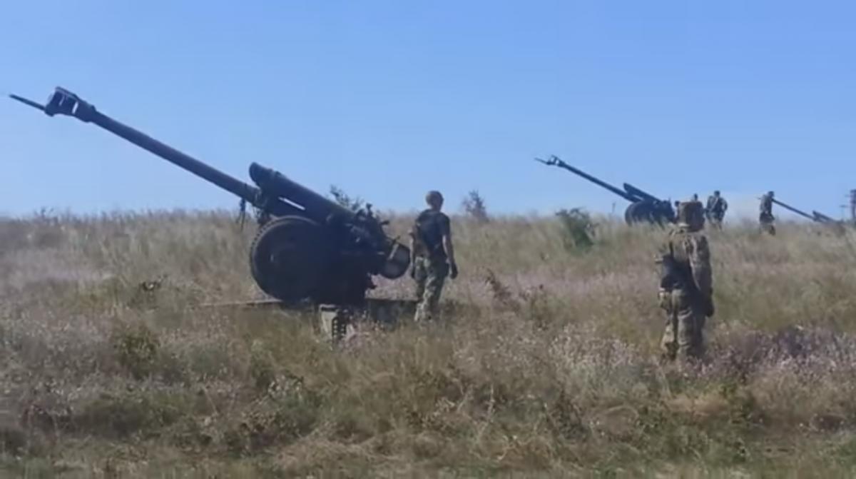 артиллерия днр боевики / youtube.com