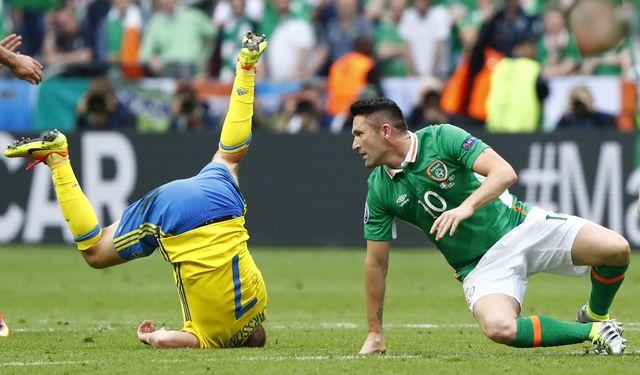 Евро-2016: Ирландия и Швеция разошлись миром