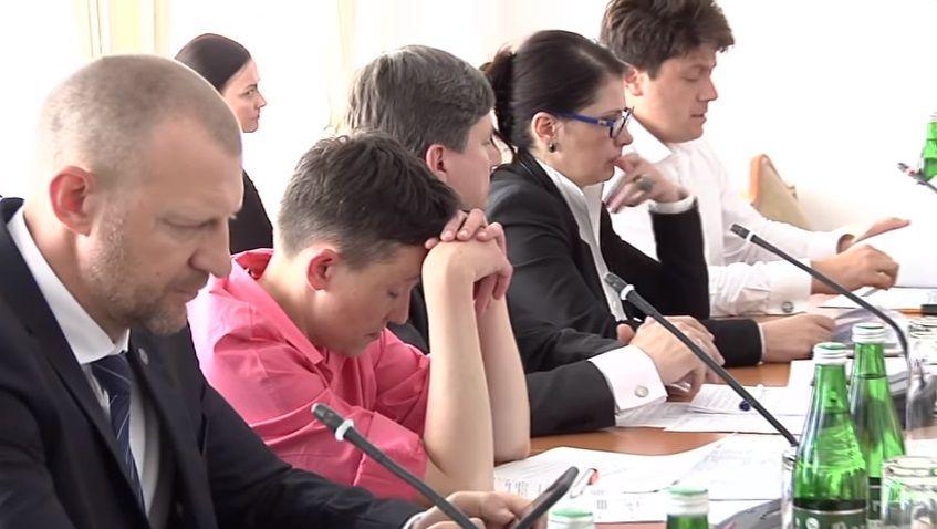Савченко / скриншот
