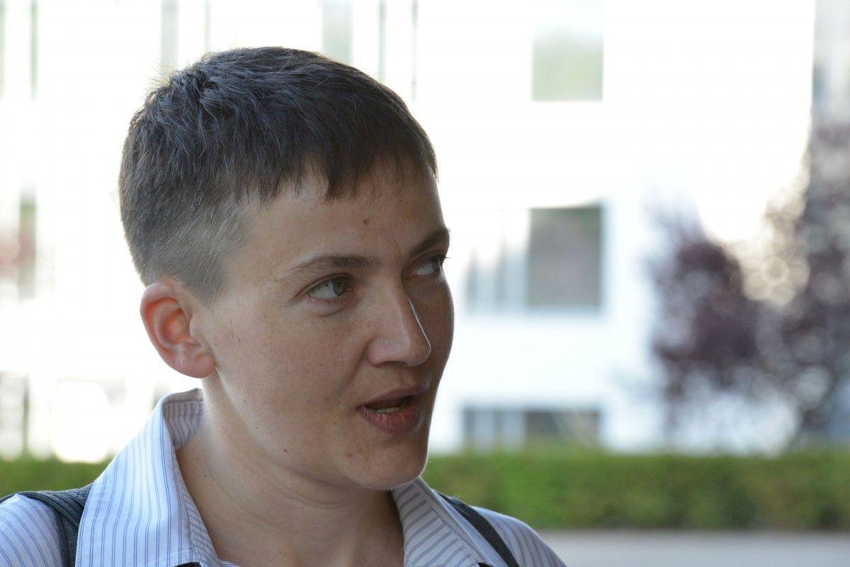 Савченко добавила, что на оккупированных территориях растет недовольство властью Плотницкого и Захарченко /  УНИАН