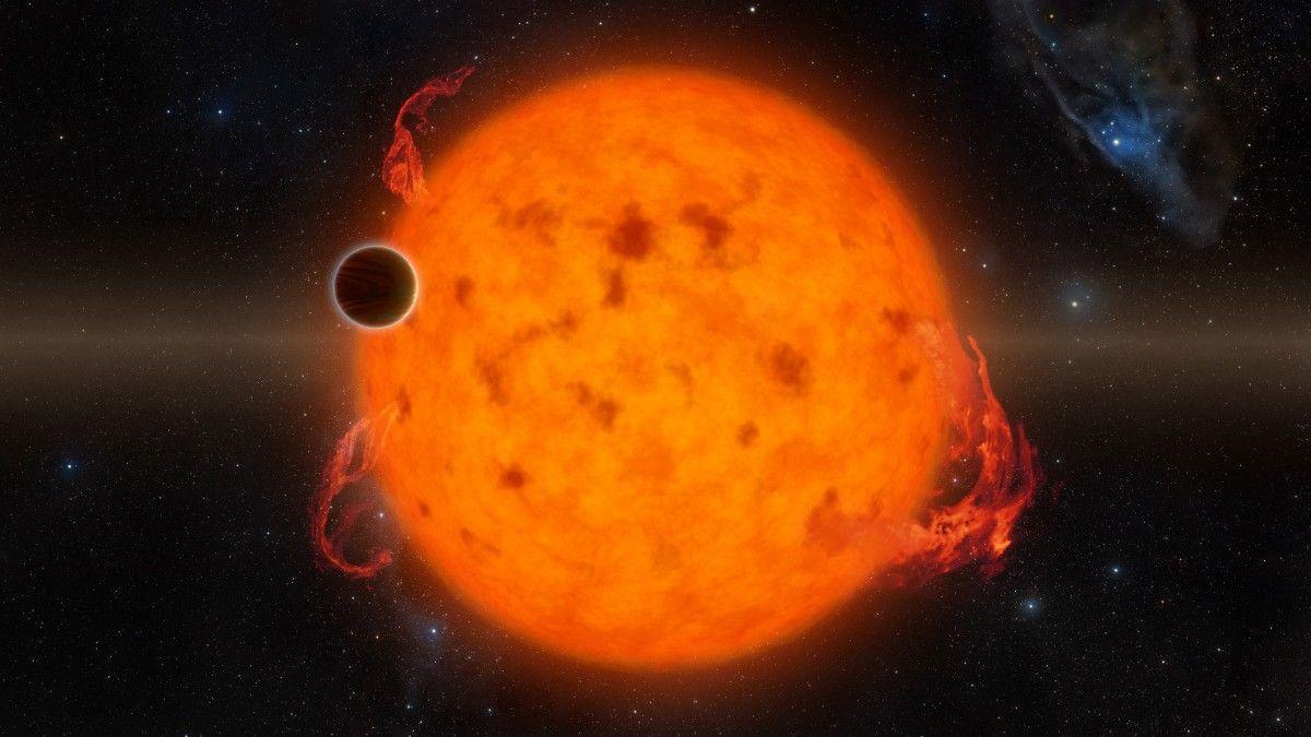 Астрономы открыли самую молодую экзопланету NASA