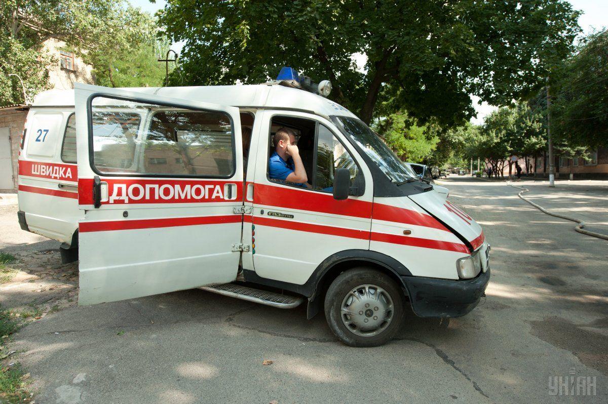 Ребенок получил 25% ожогов тела / Фото УНИАН