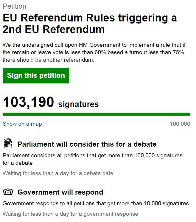 скриншот с сайта петиций