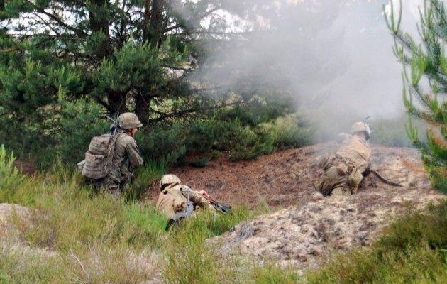"""Як підрозділи """"ЛитПполУкрбригу"""" тренувалися знешкоджувати бойовиків  - фото 4"""