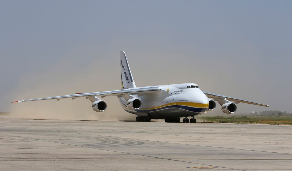 Ukraine's Antonov offers its aircraft for Trump's Air Force One