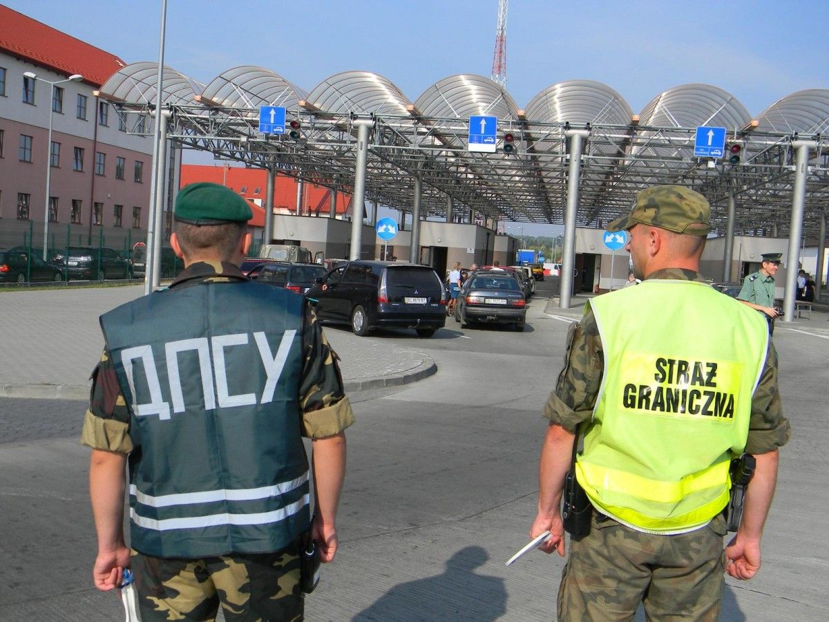 Усі пункти пропуску на українсько-польському кордоні працюють у штатному режимі / Фото dpsu.gov.ua