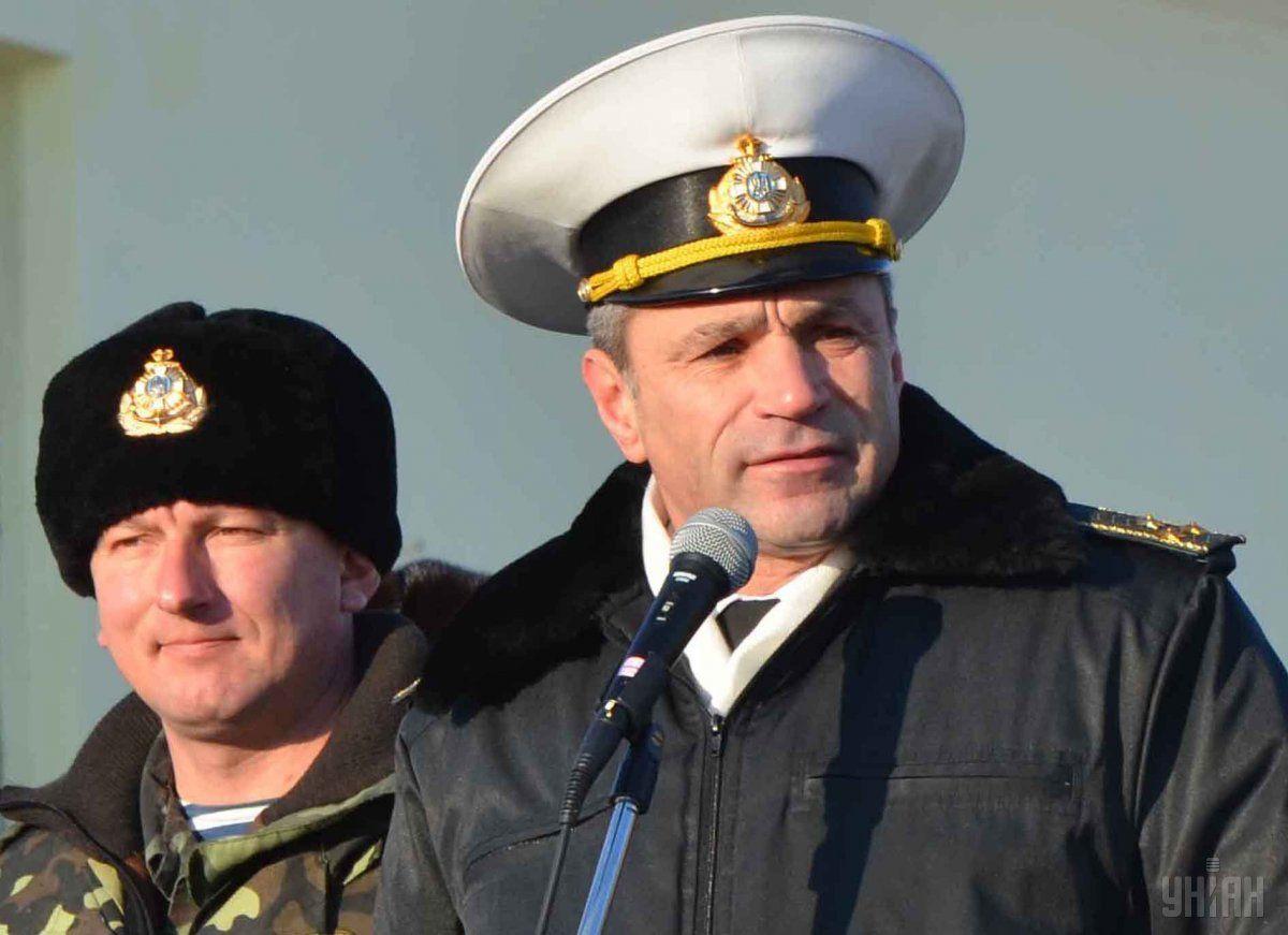 Руководитель ВМС Украины собирался использовать танки впроцессе крымских событий