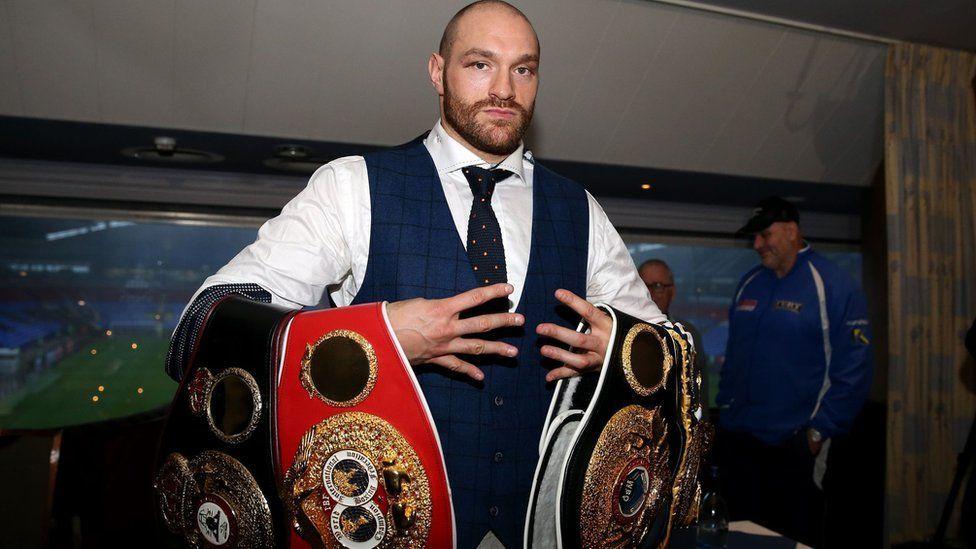 Известный боксер Тайсон Фьюри признался внетрадиционной ориентации