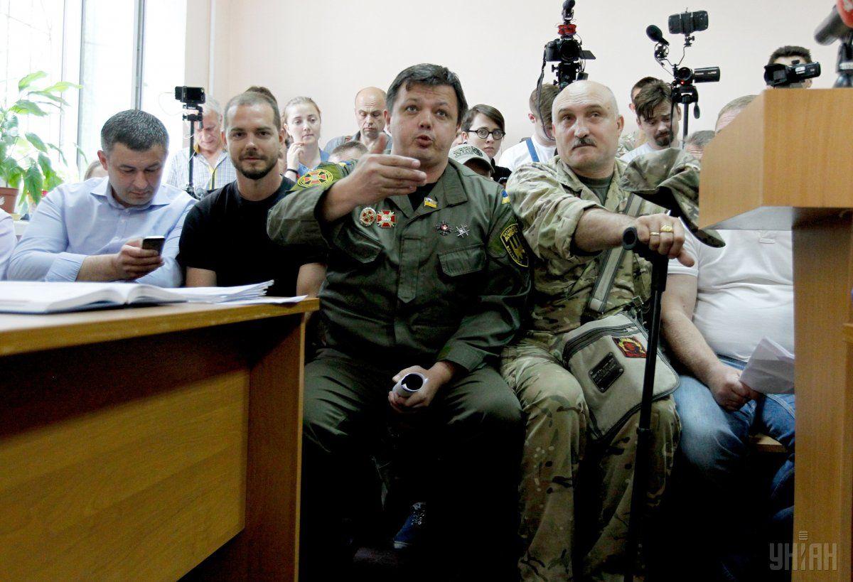 Семенченко вызвал полицию / УНИАН